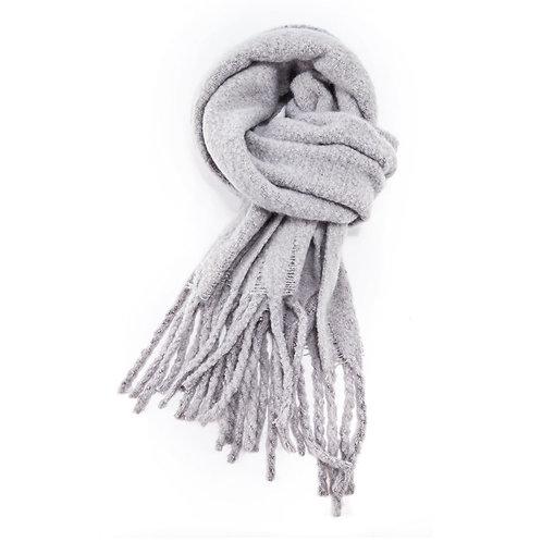 Cosy Winter Scarf- Grey