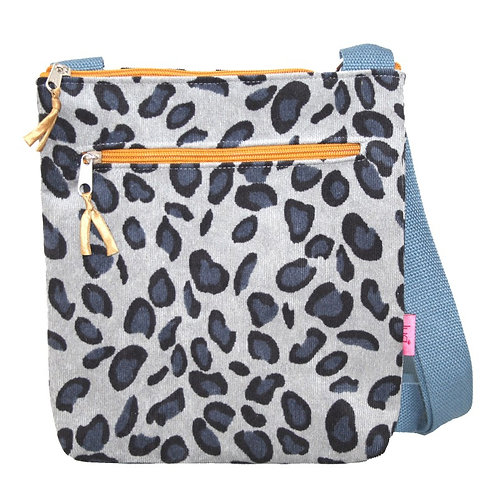 Small Messenger Bag -Leopard