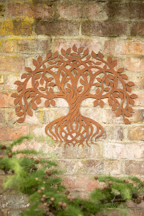 Twisting Tree Garden Wall Art  IN STORE ONLY