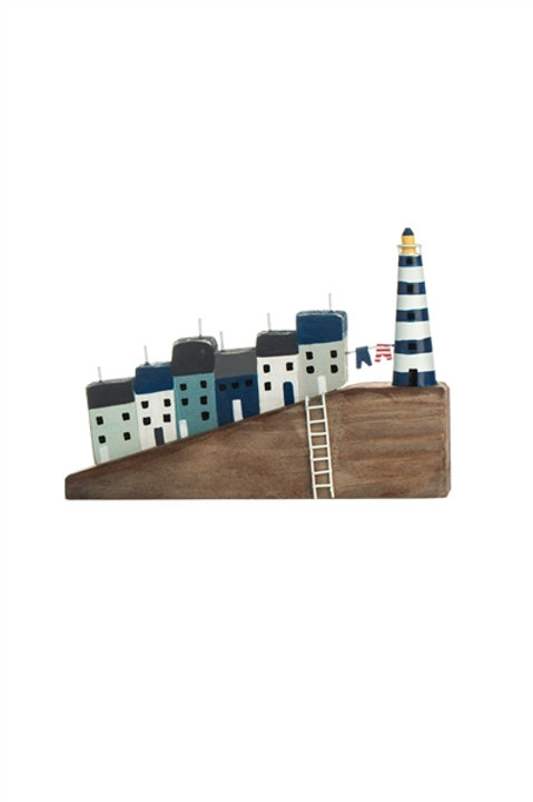 Steep Hill and Lighthouse Decoration