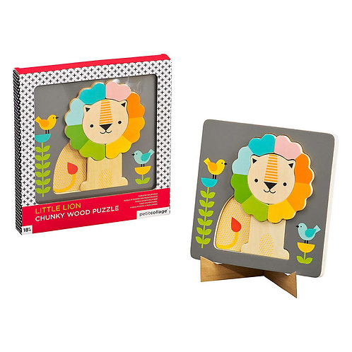 Little Lion Chunky Wood Puzzle (18months+)