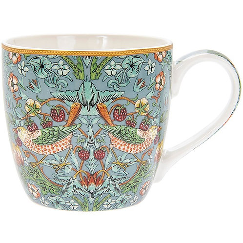 Breakfast Mug - William Morris -Strawberry Thief