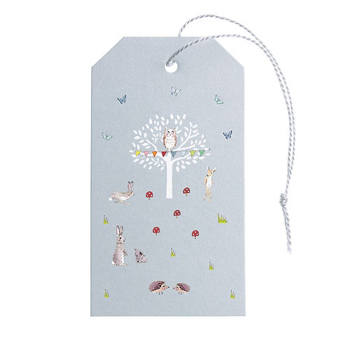 Gift Tag - Set Of 8 - Woodland Party