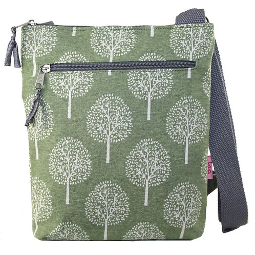 Crossbody Bag -  Light Green Mulberry