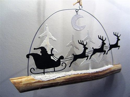 Christmas Eve Santa Slay Hanging Decoration