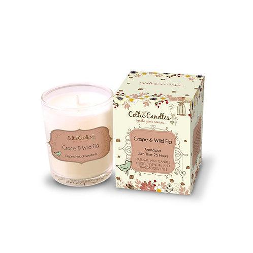 9cl Celtic Candle -Grape & Wild Fig