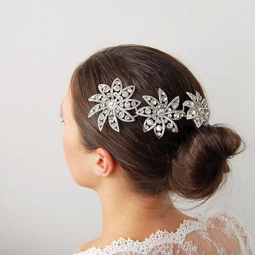 Large Star Flower Hair Piece