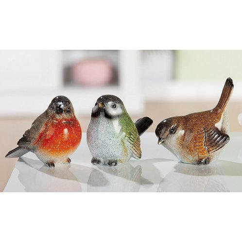 Golden Brown -Small Resin Bird