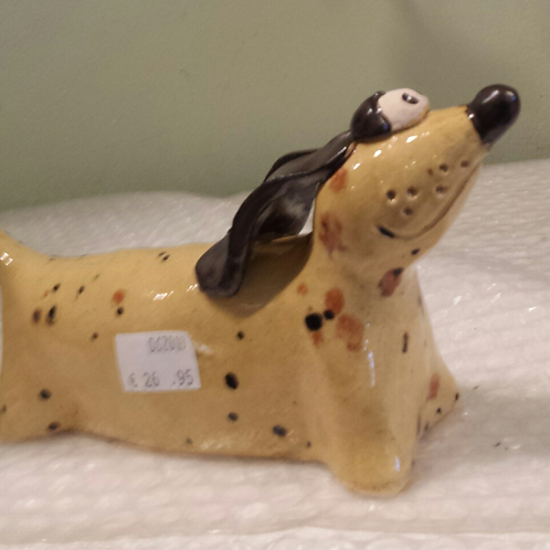 Ceramic Scottie Dog -Cream