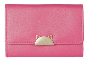 Cat Best Friends Coin Purse - Pink