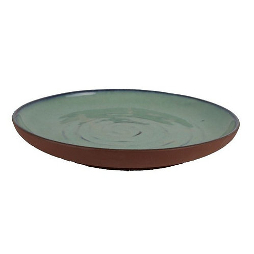 Aqua- Ceramic Rustic Platter