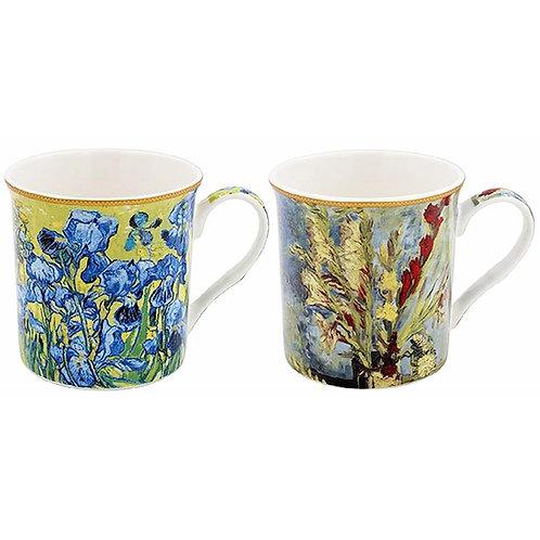 Vincent Van Gogh Set of Two Boxed Mugs