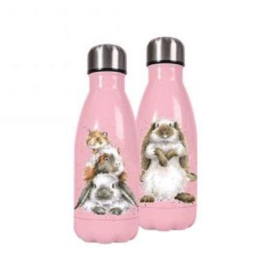 Small Rabbit Wrendale Stainless Steel Water Bottle