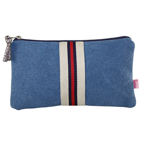 Striped Coin Purse - Large