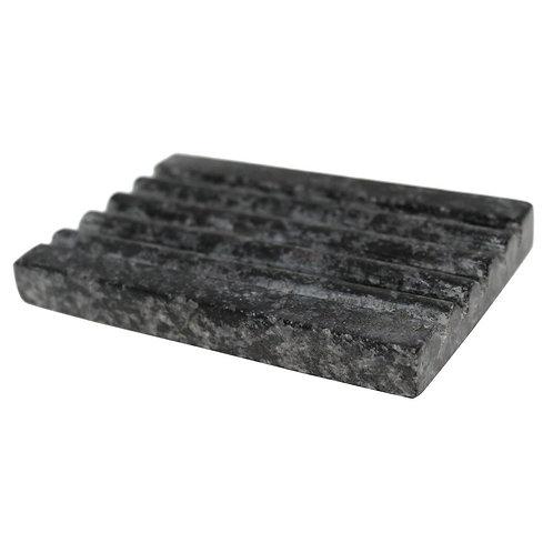 Grey Marble Soap Dish
