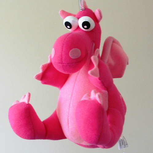 Bouncy Toy - Pink Dragon