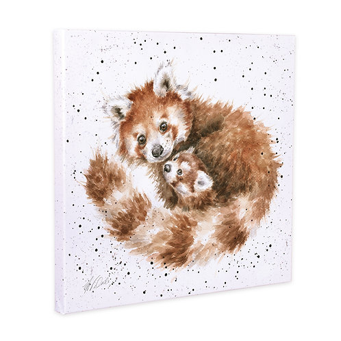 Red Pandas Wrendale Canvas Print
