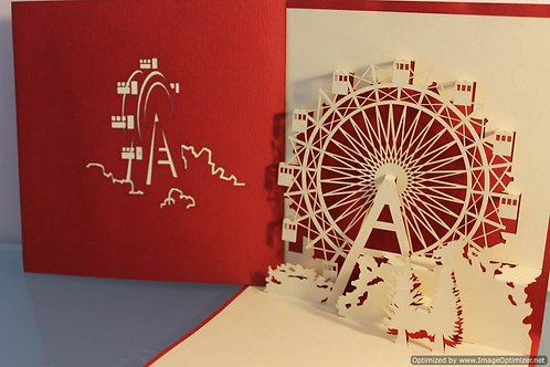 Pop up Card - Ferris Wheel