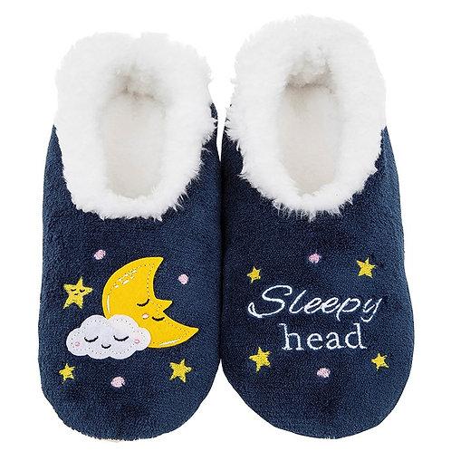 Slippers -Sleepy Head - Med