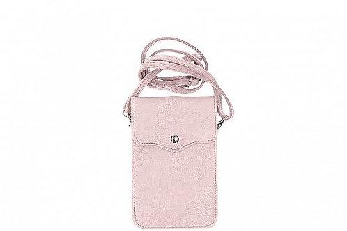Dusty Pink  Crossbody Phone Purse - Italian Leather