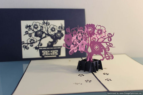 Pop up Card - Bonsai