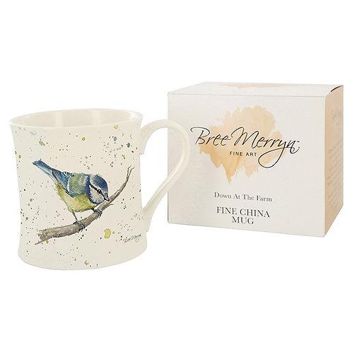 Blue Tit Boxed Mug