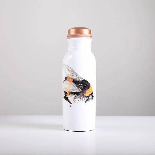 Copper Water Bottle 750ml - Bee