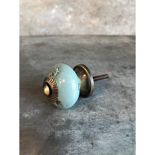 Blue Drawer Knob