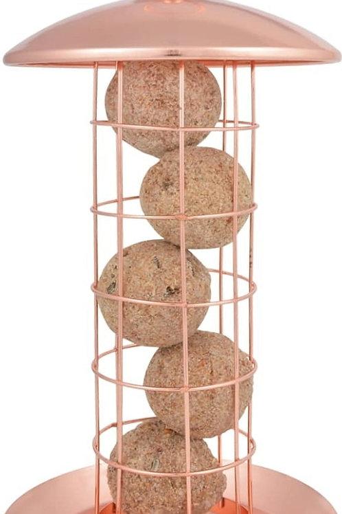 Copper Fat Ball Hanging Bird Feeder