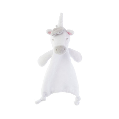Evie Unicorn cuddle comforter