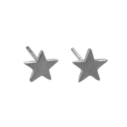 Star Stud Earrings  Sterling Silver