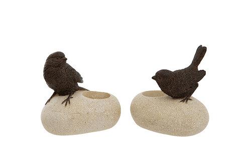 T Light -  Bird on a Stone