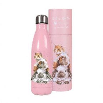 Rabbit Wrendale Stainless Steel Water Bottle