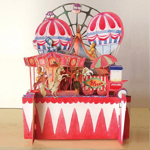 3D card - circus