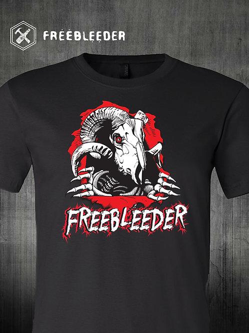 Freebleeder Goat Ripper Short-Sleeve Unisex T-Shirt