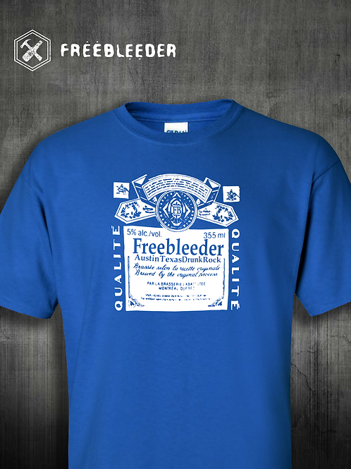 BEER LABEL SHIRT / Several Colors Available