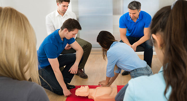 CPR/AED/First Aid Certification Course