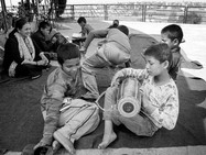 There are various recreational activities in the afternoon, as music, drawing, taekwondo,...