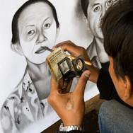 A portrait for money