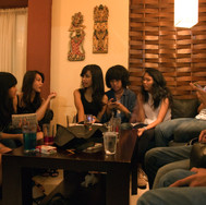 Teenager's birthday party in Kemang