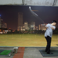 Semanggi, golf practice