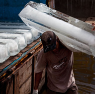 Tanjung Priok, ice blok delivery