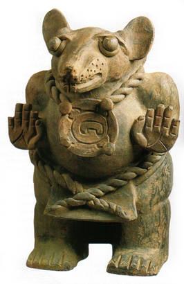 cerámica de tlacuache