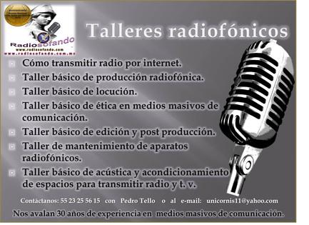 Talleres radiofónicos