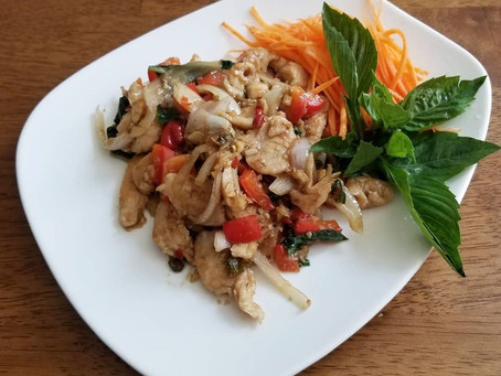 How to Cook Thai Basil Chicken