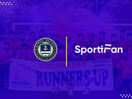 Mumbai Marines FC announces new partnership with Sportifan