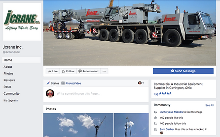 Jcrane Lifting Made Easy on Facebook