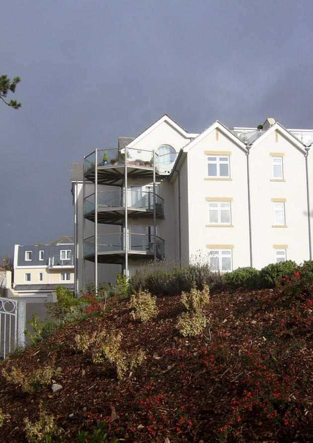 Apartment Building at Teignmouth