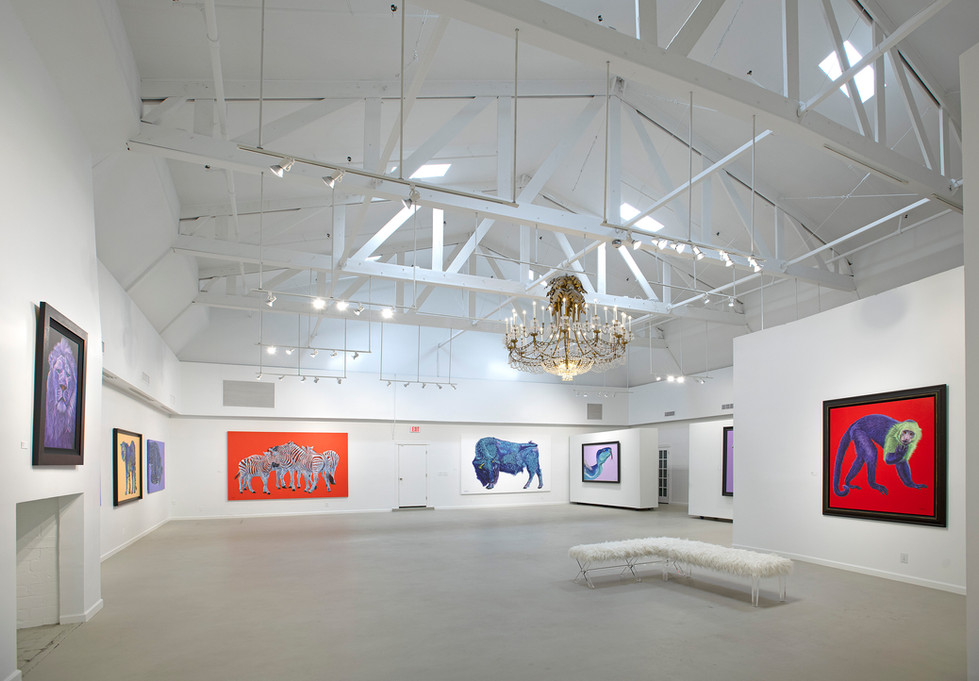 Koller solo- exhibitit at the Fritz Gallery, Palm Beach 2019