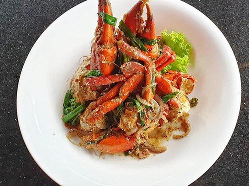 White Pepper Crab with Black Truffle 黑松需白胡椒蟹